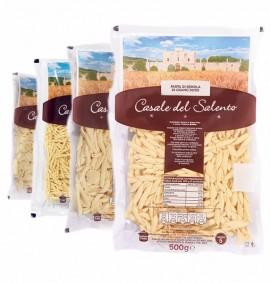 Box Pasta artigianale con Orecchiette, Trofie e Maritati con Semola di Grano duro - kg3