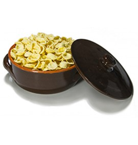 Heat Pan + 500g Dry Semolina Orecchiette