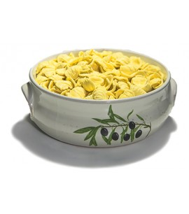 Decorated Pan + 500g Dry Semolina Orecchiette