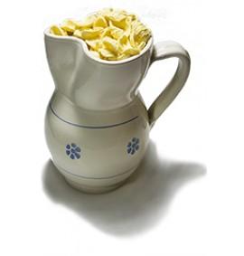 Karaffe Weiß + 500g Orecchiette aus Hartweizengrieß